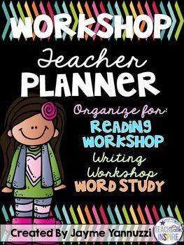 Workshop Teacher Planner