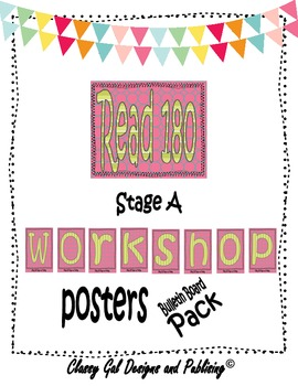 Workshop Title Posters for the Read 180 Classroom