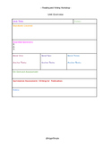 Workshop Unit and Lesson Plan template