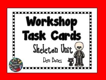 Skeleton Workshop Task Cards