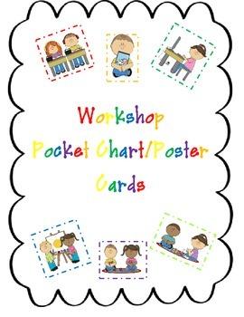 Workshop/Center Pocket Chart Cards