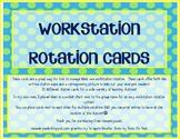 Workstation Rotation Cards
