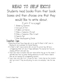 Workstation and Guided Reading Checks for Understanding