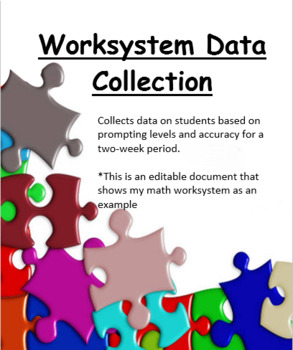 Worksystem Data Collection