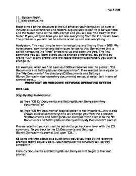 Worktext on Windows Network OS