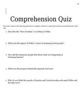 World War II Student Study Packet
