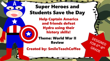 World War Two: Superhero  Game