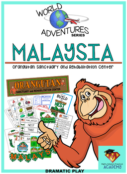 World Adventures: Malaysia (Dramatic Play Pack)