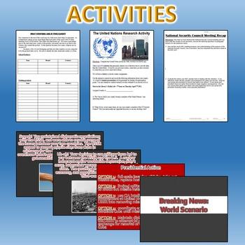 World Affairs Unit (Government / Civics) *Unit Bundle*