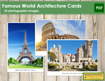 World Architecture Cards