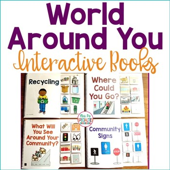 World Around You Interactive Books (Life Skills for Special Education)