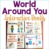 Community Living Interactive Books (Adapted Books for Life Skills & Special Ed.)
