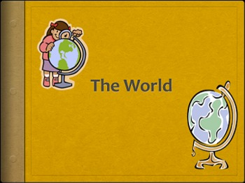 World Atlas: An introduction to the world!