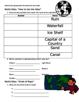 World Atlas Packet