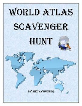 World Atlas Scavenger Hunt