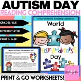 World Autism Awareness Day Guided Reading