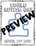 World Autism Day - Colouring Sheet
