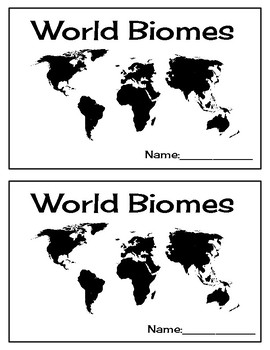 World Biomes Booklet