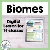 World Biomes, Climate and Food webs - Distance Learning Lesson