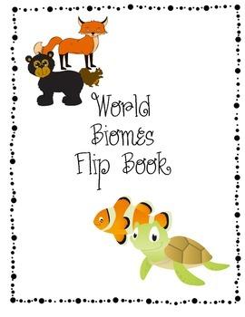 Activity Pack: World Biomes Flip Book