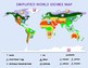 World Biomes Map and Quiz