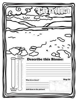 World Biomes Mini-Reports and Word Wall