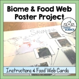 World Biomes Activity & Poster Project: Habitats & Food Webs