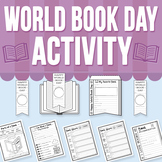 World Book Day Activity (Distance Learning)