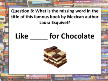 World Book Day quiz - book general knowledge questions!