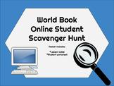 World Book Online Student Scavenger Hunt