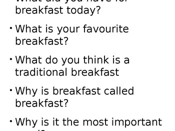 World Breakfasts