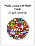 World Capital City Flashcards - Printable - Avery Label Ready