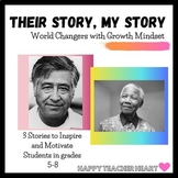 "World Changers Growth Mindset Activity ---""Their Story, My Story"""