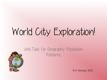 World City Exploration Task