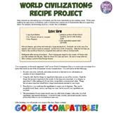 World Civilization Recipe Project