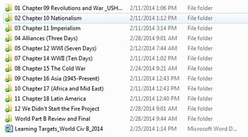 World Civilizations or World History Complete Course 1600-Now 16GB Flash Drive
