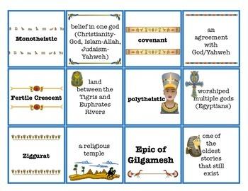 World Civilizations Vocabulary