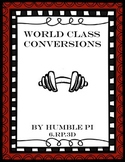 World Class Conversions Math Centers- 6.RP.3d