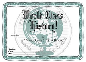 World Class History