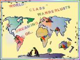 World-Class Travelers Printable Bulletin Board Kit!