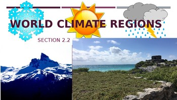 World Climate Regions PowerPoint