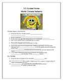 World Climate Zones Guided Notes Chapter 3.3