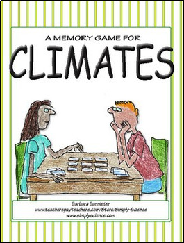 World Climates Memory Game