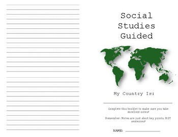 World Communities Guided Research