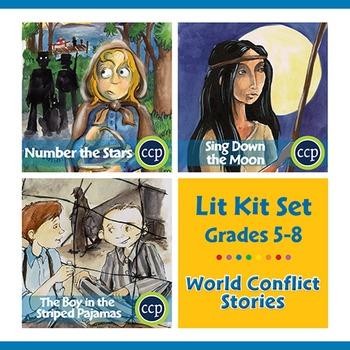 World Conflict Stories Lit Kit Set - Gr. 5-8