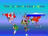 World Continents Escape Room