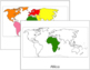 World Continents: Flashcards