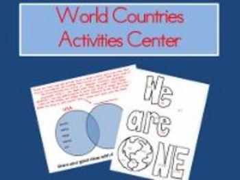 World Countries Activities Center