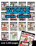 World Countries BUNDLE! / Activity Sets