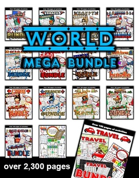 World Countries / Travel Mega Bundle